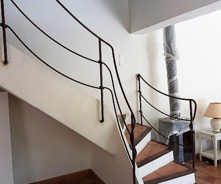 Rampe d'escalier design par Ferronnerie Martinelli