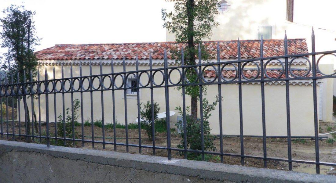 Clôture en fer forgé par Ferronnerie Martinelli 84 Vaucluse